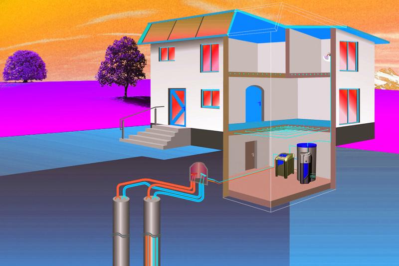GEOTERMIA. COMO GENERAR MASIVAMENTE ELECTRICIDAD. CALOR Y FRÍO CON LA ENERGÍA DE LA TIERRA