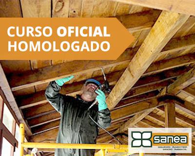 CURSO OFICIAL APLICADOR BIOCIDAS PROTECTORES DE MADERA TP8 NIVEL APLICADORES