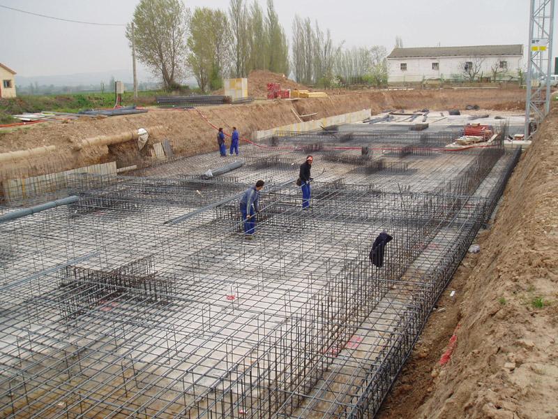 CONSTRUCCIÓN DE CIMIENTOS Y SANEAMIENTOS. REPLANTEO Y CONSTRUCCIÓN DE CIMENTACIONES Y REDES HORIZONTALES DE SANEAMIENTO