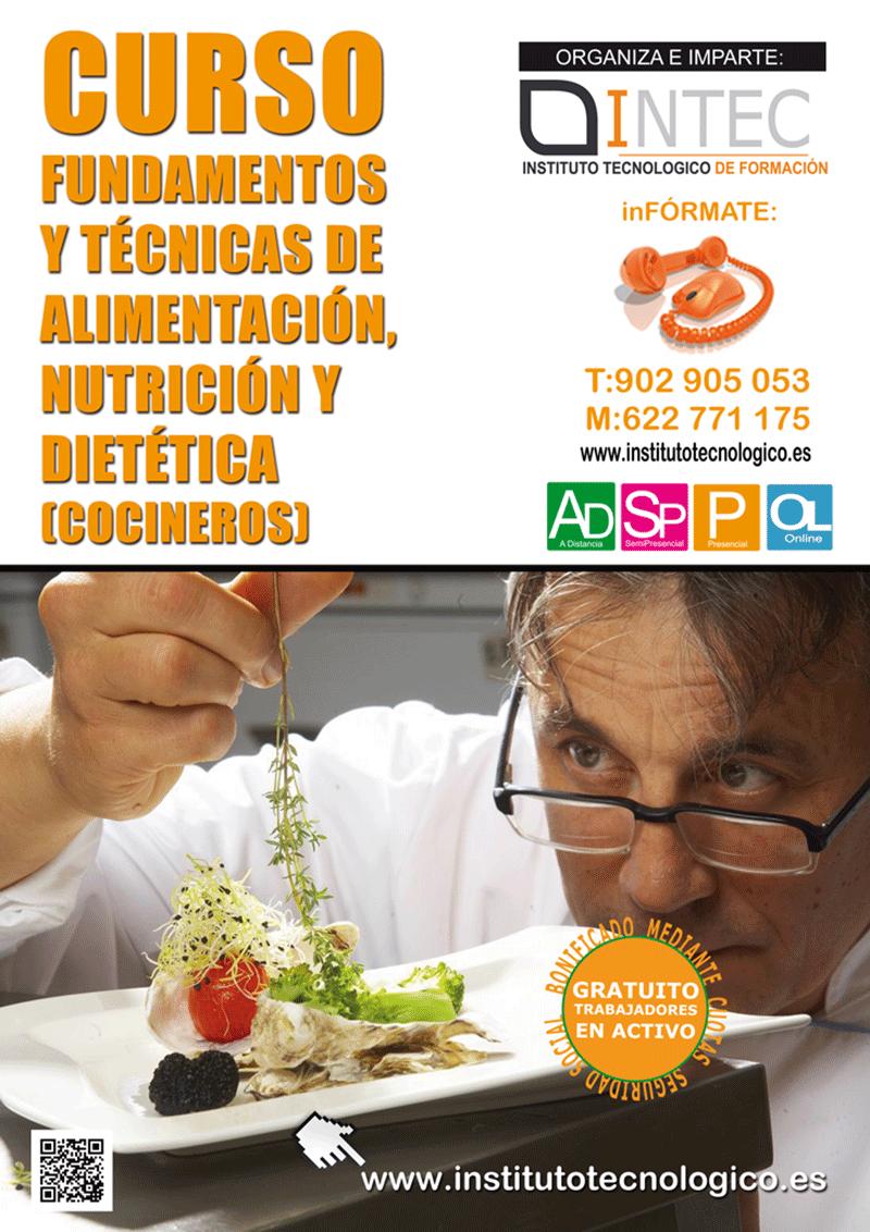 FUNDAMENTOS Y TÉCNICAS DE ALIMENTACIÓN, NUTRICIÓN Y DIETÉTICA (COCINEROS)