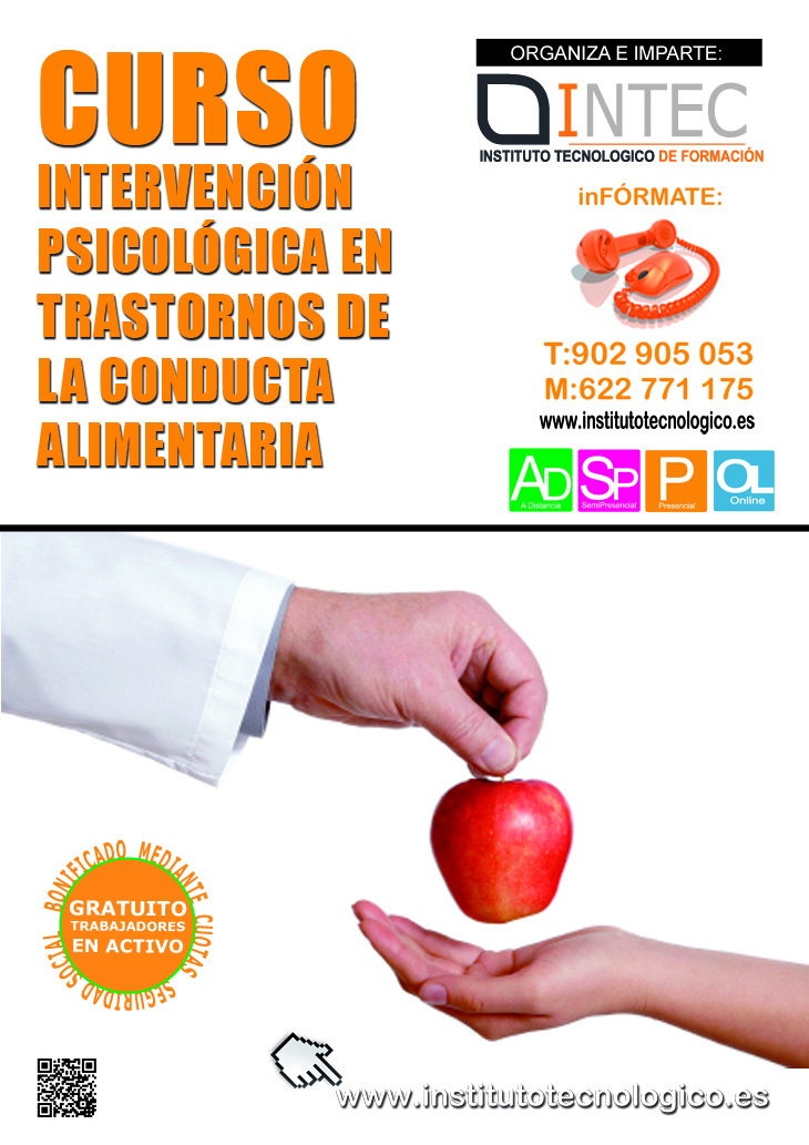 INTERVENCIÓN PSICOLÓGICA EN TRASTORNOS DE LA CONDUCTA ALIMENTARIA