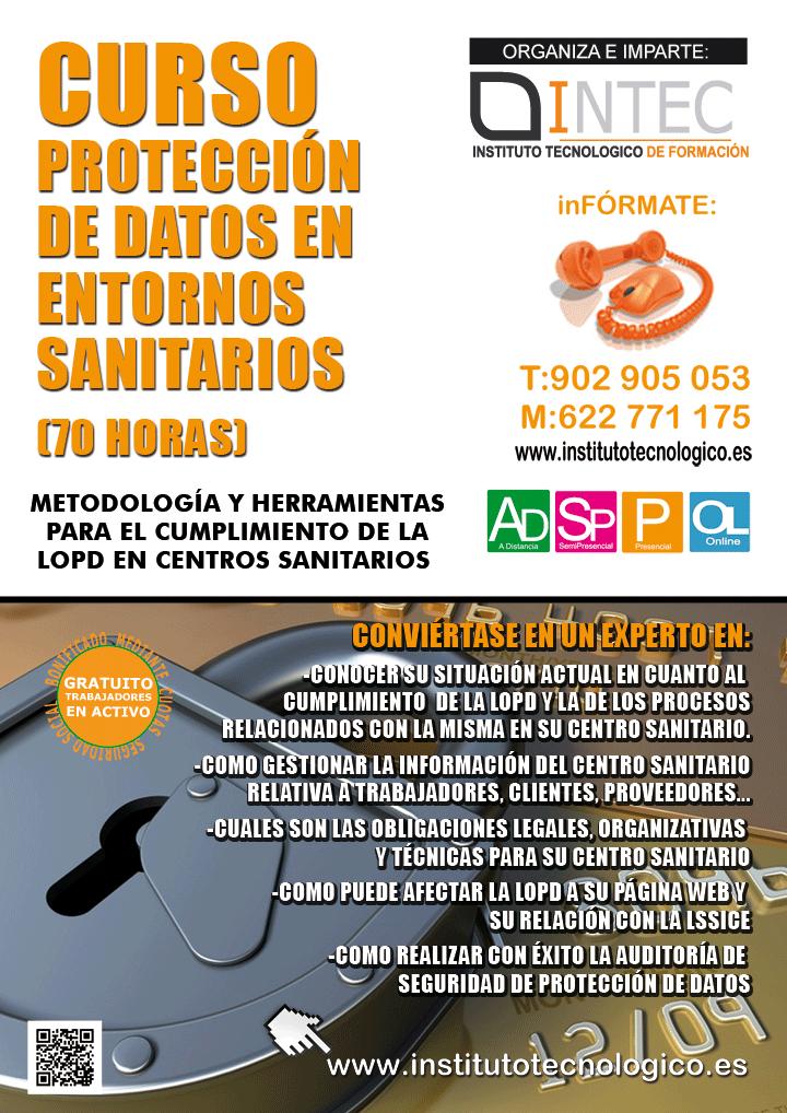 PROTECCIÓN DE DATOS EN ENTORNOS SANITARIOS