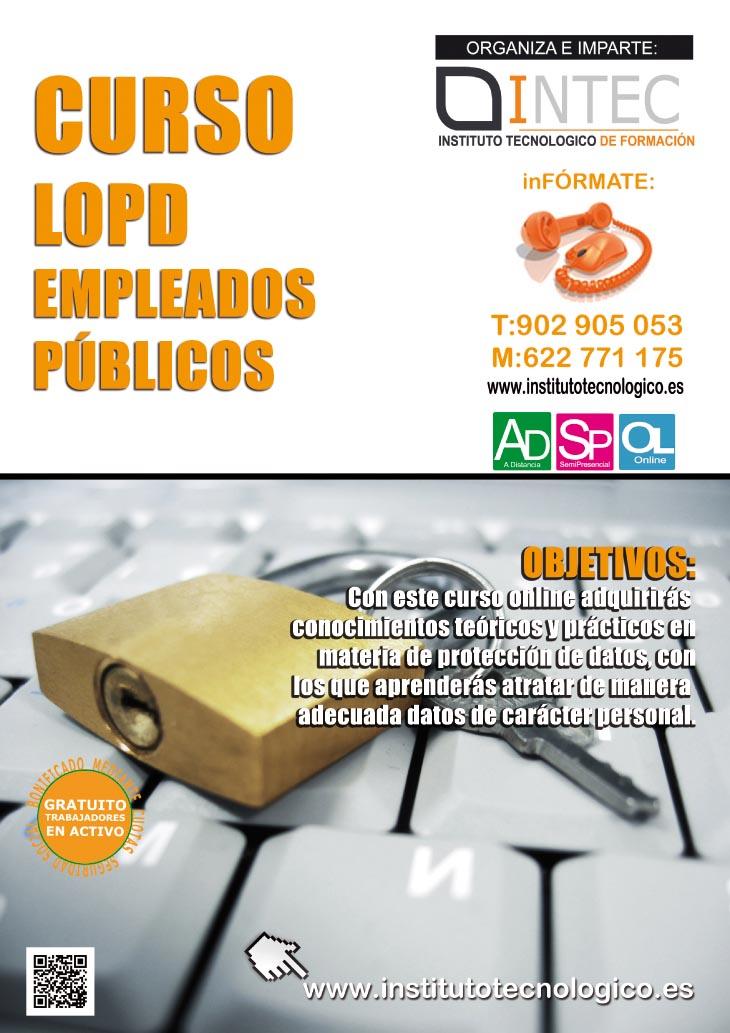 LOPD EMPLEADOS PUBLICOS