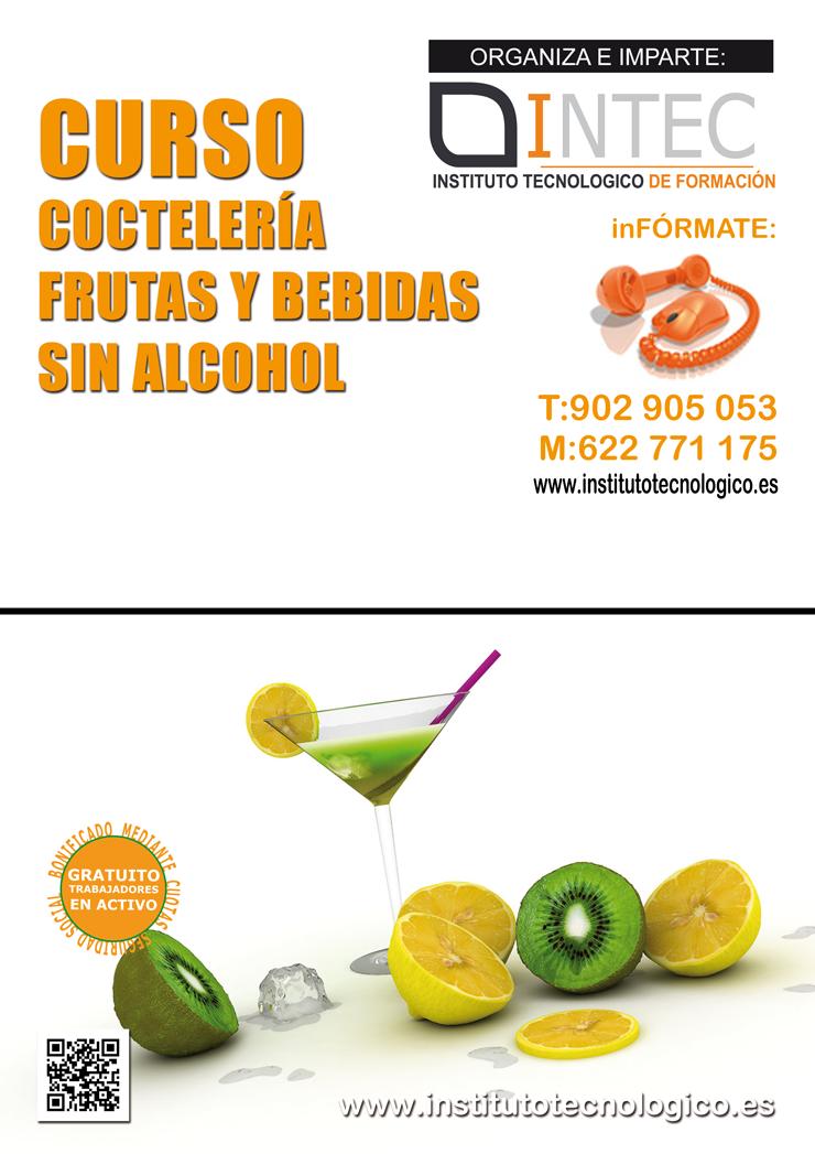 COCTELERÍA. FRUTA Y BEBIDAS SIN ALCOHOL