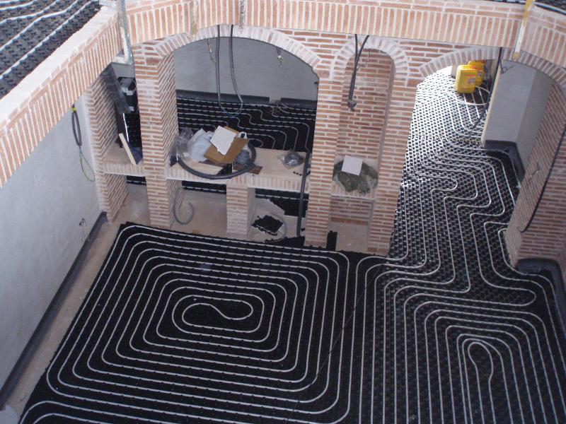 Sanea curso de calefacci n por suelo radiante - Calefaccion por hilo radiante ...